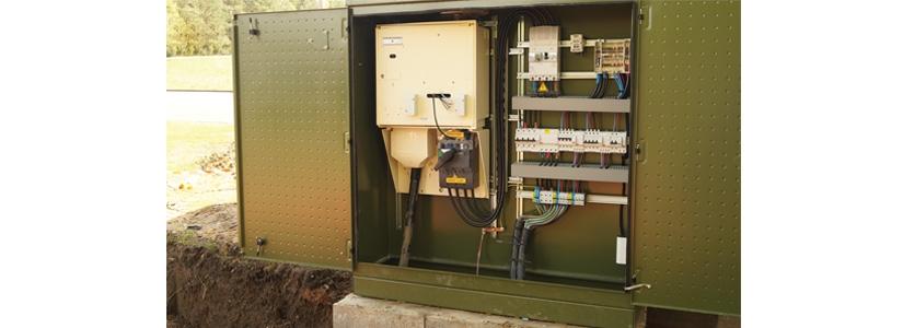 Armoires pour clairage public de forte puissance type armoire de stade groupe cahors - Armoire electrique exterieur ...