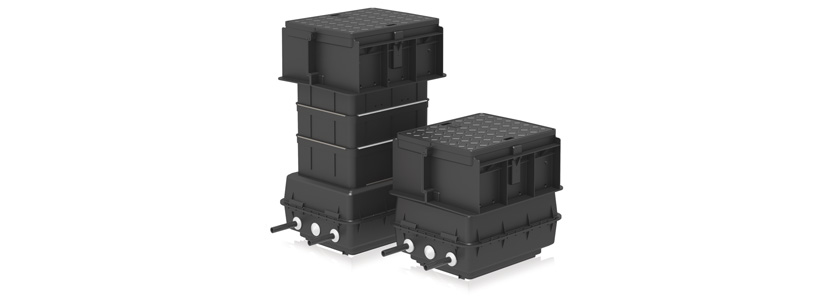 Multi-meter valve boxes - Compozit®