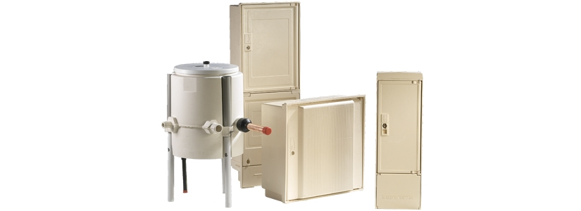 Coffrets de branchement au réseau de distribution gaz