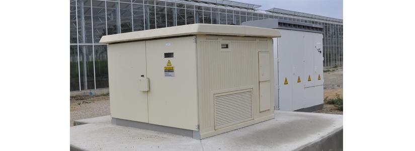 Estación de transformación elevadora compacto NAUVASOL